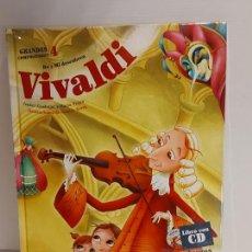 Libros: DO Y MI DESCUBREN VIVALDI / GRANDES COMPOSITORES 4 / LIBRO CON CD + JUEGOS / PRECINTADO.. Lote 227056820