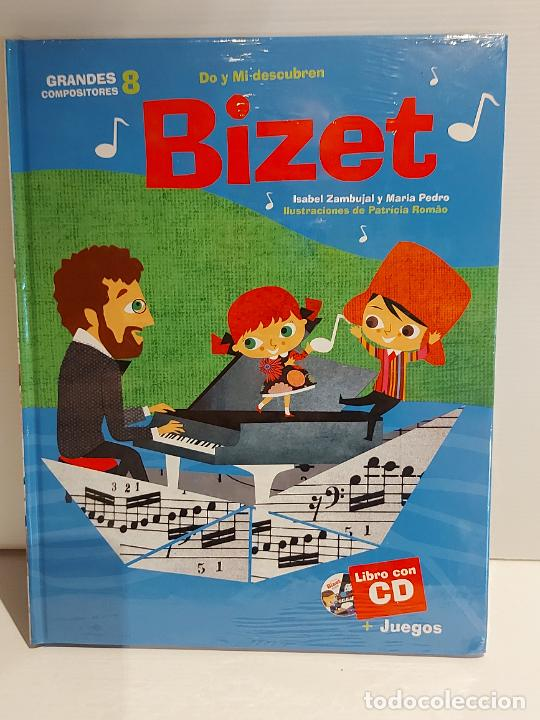 DO Y MI DESCUBREN BIZET / GRANDES COMPOSITORES 8 / LIBRO CON CD + JUEGOS / PRECINTADO. (Libros Nuevos - Bellas Artes, ocio y coleccionismo - Música)