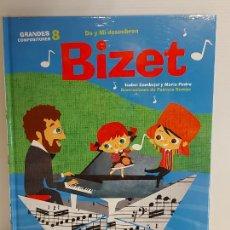 Libros: DO Y MI DESCUBREN BIZET / GRANDES COMPOSITORES 8 / LIBRO CON CD + JUEGOS / PRECINTADO.. Lote 227058175