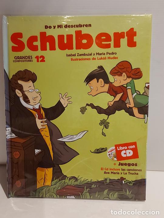 DO Y MI DESCUBREN SCHUBERT / GRANDES COMPOSITORES 12 / LIBRO CON CD + JUEGOS / PRECINTADO. (Libros Nuevos - Bellas Artes, ocio y coleccionismo - Música)