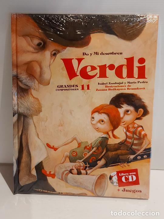 DO Y MI DESCUBREN VERDI / GRANDES COMPOSITORES 11 / LIBRO CON CD + JUEGOS / PRECINTADO. (Libros Nuevos - Bellas Artes, ocio y coleccionismo - Música)