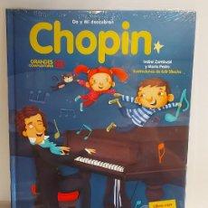 Livros: DO Y MI DESCUBREN CHOPIN / GRANDES COMPOSITORES 10 / LIBRO CON CD + JUEGOS / PRECINTADO.. Lote 227058785