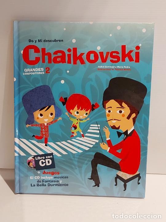 DO Y MI DESCUBREN CHAIKOVSKI / GRANDES COMPOSITORES 2 / LIBRO CON CD + JUEGOS / DESPRECINTADO. (Libros Nuevos - Bellas Artes, ocio y coleccionismo - Música)