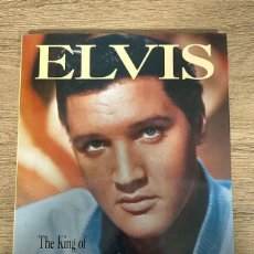Libros: ELVIS - THE KING OF ROCK N ROLL - ELVIS PRESLEY. Lote 236826750