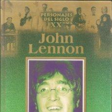 Libros: JOHN LENNON - PERSONAJES DEL SIGLO XX (EDICIONES RUEDA 2000). Lote 236981525