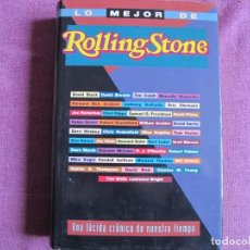 Libros: LO MEJOR DE ROLLING STONES. UNA LÚCIDA CRÓNICA DE NUESTRO TIEMPO. (EDICIONES B. 1995). Lote 237066675