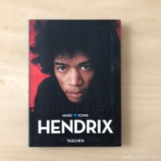 Libros: HENDRIX - MUSIC ICONS. Lote 242356120
