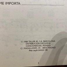 """Libros: BIENAVENTURADOS """"SERRAT""""PARTITURAS GUITARRA. Lote 243582885"""