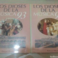 Libros: LOS DIOSES DE LA MÚSICA 93. Lote 245575490