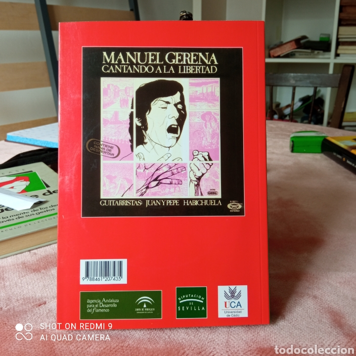Libros: Escribir para cantar flamenco con otro sentido de Manuel gerena - Foto 2 - 253238570