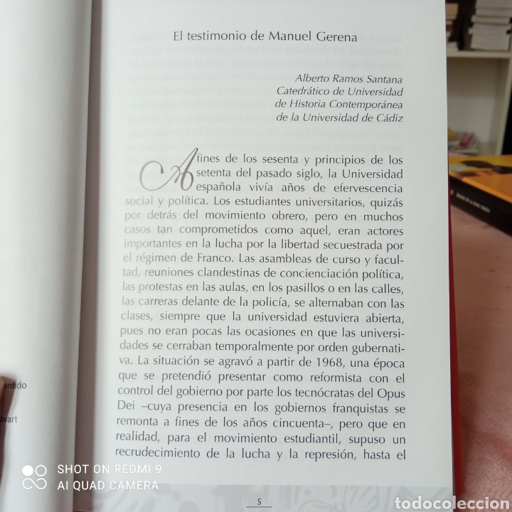 Libros: Escribir para cantar flamenco con otro sentido de Manuel gerena - Foto 3 - 253238570