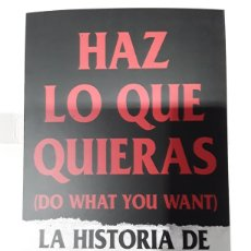 Libros: HAZ LO QUE QUIERAS (DO WHAT YOU WANT). LA HISTORIA DE BAD RELIGION - NEO-SOUNDS. Lote 254672285