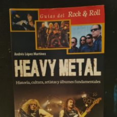 Libros: HEAVY METAL,GUIAS DEL ROCK & ROLL. Lote 254838370