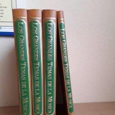 Libros: LOS GRANDES TEMAS DE LA MUSICA. Lote 255991800