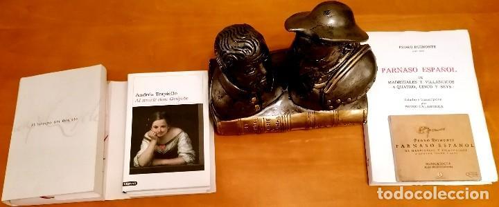 Libros: AL MORIR DON QUIJOTE, ANDRÉS TRAPIELLO. PEDRO RUIMONTE, PARNASO ESPAÑOL MADRIGALES, VILLANCICOS (3) - Foto 3 - 257543115