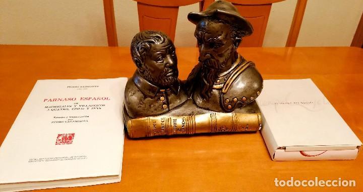 Libros: AL MORIR DON QUIJOTE, ANDRÉS TRAPIELLO. PEDRO RUIMONTE, PARNASO ESPAÑOL MADRIGALES, VILLANCICOS (3) - Foto 5 - 257543115