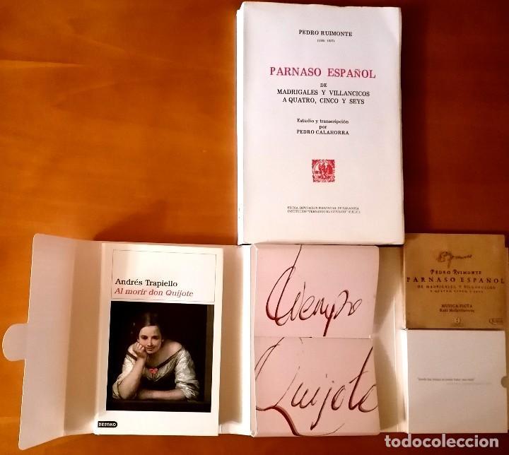 Libros: AL MORIR DON QUIJOTE, ANDRÉS TRAPIELLO. PEDRO RUIMONTE, PARNASO ESPAÑOL MADRIGALES, VILLANCICOS (3) - Foto 6 - 257543115
