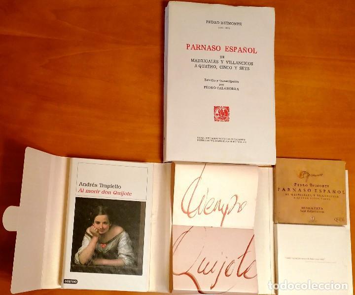 Libros: AL MORIR DON QUIJOTE, ANDRÉS TRAPIELLO. PEDRO RUIMONTE, PARNASO ESPAÑOL MADRIGALES, VILLANCICOS (3) - Foto 7 - 257543115