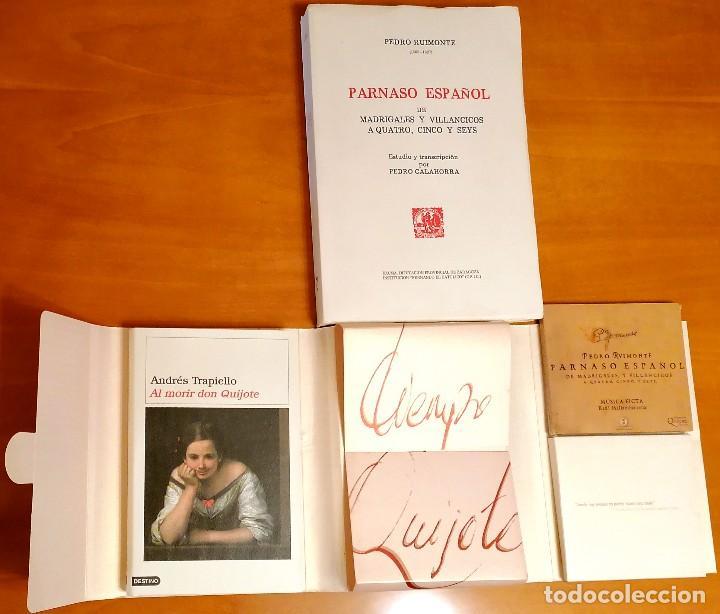 Libros: AL MORIR DON QUIJOTE, ANDRÉS TRAPIELLO. PEDRO RUIMONTE, PARNASO ESPAÑOL MADRIGALES, VILLANCICOS (3) - Foto 9 - 257543115