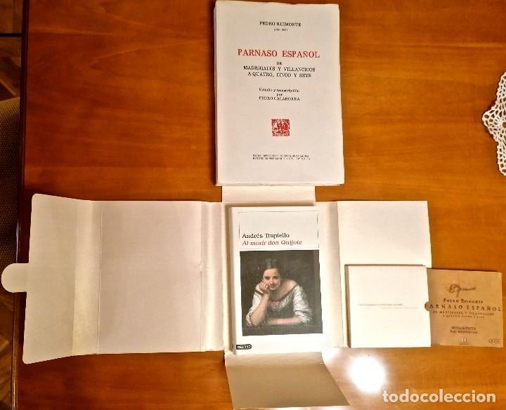 Libros: AL MORIR DON QUIJOTE, ANDRÉS TRAPIELLO. PEDRO RUIMONTE, PARNASO ESPAÑOL MADRIGALES, VILLANCICOS (3) - Foto 14 - 257543115