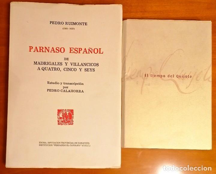 Libros: AL MORIR DON QUIJOTE, ANDRÉS TRAPIELLO. PEDRO RUIMONTE, PARNASO ESPAÑOL MADRIGALES, VILLANCICOS (3) - Foto 15 - 257543115