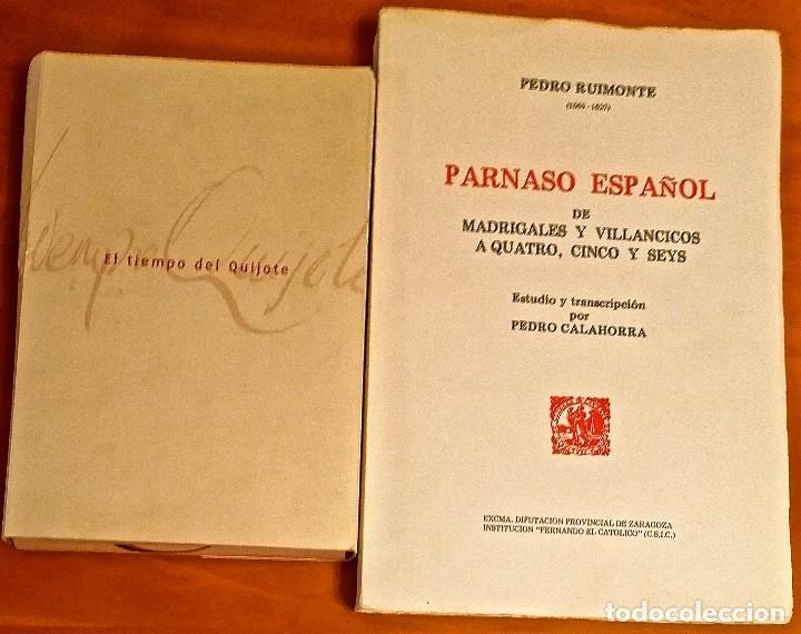 Libros: AL MORIR DON QUIJOTE, ANDRÉS TRAPIELLO. PEDRO RUIMONTE, PARNASO ESPAÑOL MADRIGALES, VILLANCICOS (3) - Foto 17 - 257543115