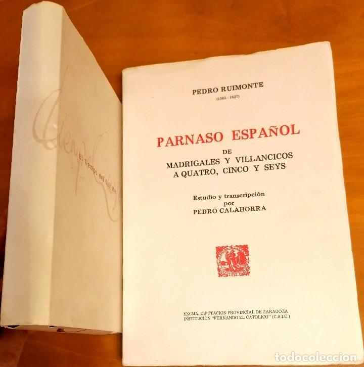 Libros: AL MORIR DON QUIJOTE, ANDRÉS TRAPIELLO. PEDRO RUIMONTE, PARNASO ESPAÑOL MADRIGALES, VILLANCICOS (3) - Foto 19 - 257543115