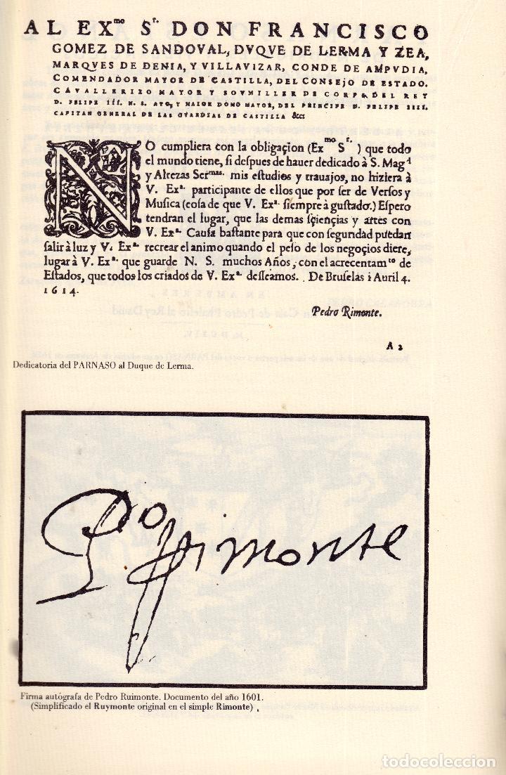 Libros: AL MORIR DON QUIJOTE, ANDRÉS TRAPIELLO. PEDRO RUIMONTE, PARNASO ESPAÑOL MADRIGALES, VILLANCICOS (3) - Foto 26 - 257543115