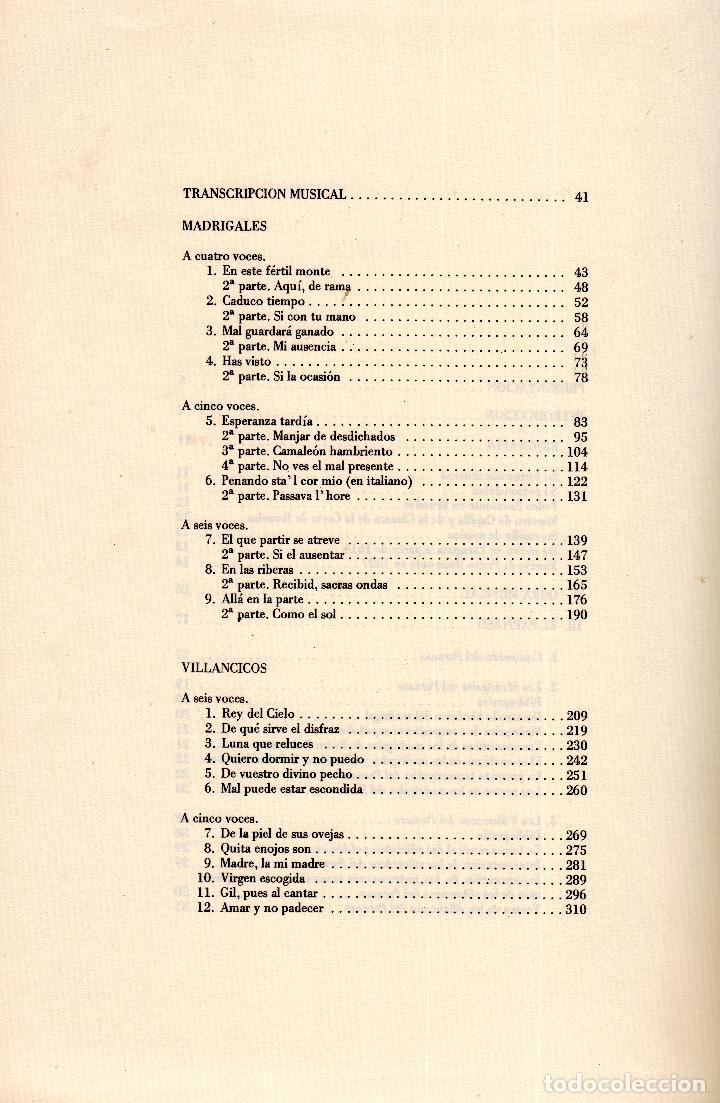 Libros: AL MORIR DON QUIJOTE, ANDRÉS TRAPIELLO. PEDRO RUIMONTE, PARNASO ESPAÑOL MADRIGALES, VILLANCICOS (3) - Foto 28 - 257543115