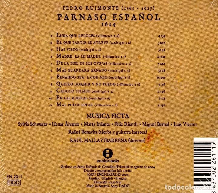 Libros: AL MORIR DON QUIJOTE, ANDRÉS TRAPIELLO. PEDRO RUIMONTE, PARNASO ESPAÑOL MADRIGALES, VILLANCICOS (3) - Foto 41 - 257543115