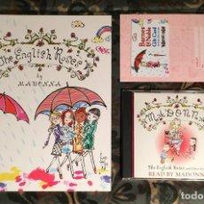 Libros: MADONNA LOTE LAS ROSAS INGLESAS THE ENGLISH ROSES LIBRO Y CD. Lote 258967465