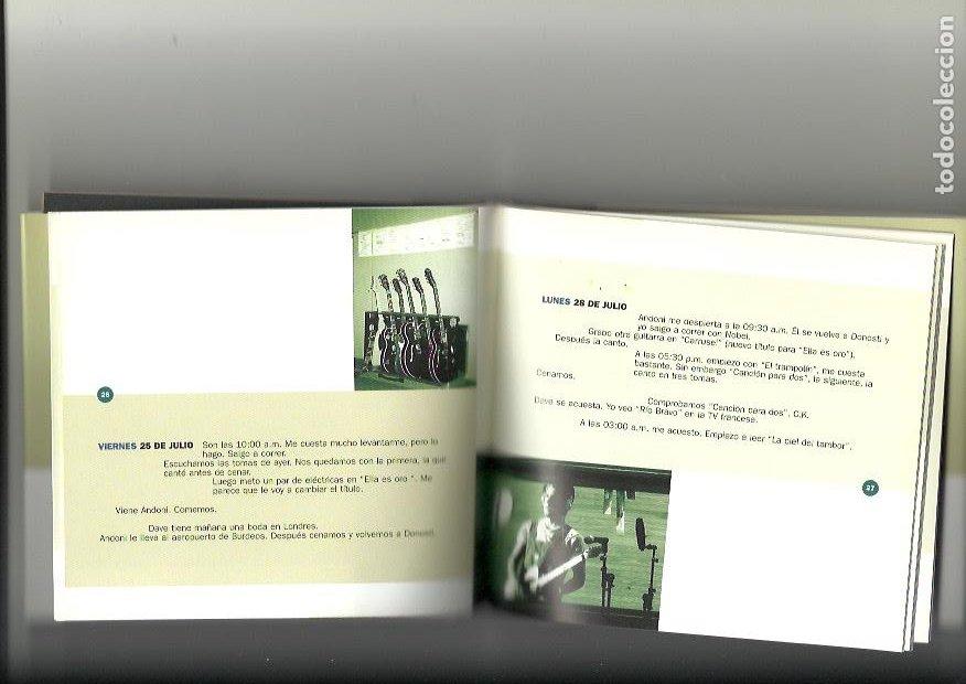 Libros: MIKEL ERENTXUN. Acrobatas. Diario de la grabación - Julio-octubre 1997 - Foto 3 - 259297480