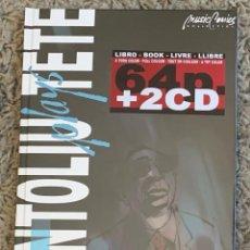 Libros: TETE MONTOLIU - MONTOLIU PLAYS TETE (COMIC 64 PAG + 2 CD'S) TAPA DURA - NUEVO Y PRECINTADO. Lote 261914670