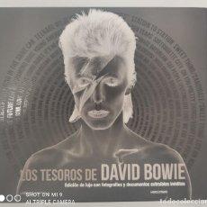 Libros: LOS TESOROS DE DAVID BOWIE - MIKE EVANS. Lote 267773424
