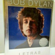 Libros: BOB DYLAN LETRAS. Lote 270660908