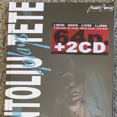 Libros: TETE MONTOLIU - (COMIC 64 PAG + 2 CD'S) TAPA DURA NUEVO Y PRECINTADO. Lote 286969158
