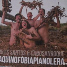 Libros: MAQUINOFÒBIAPIANOLERA CARLES. SANTOS Y CABOSANROQUE. CORRE LA VOZ, 2013. CON CD. Lote 288513758