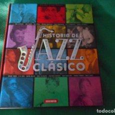 Libros: ATLAS ILUSTRADO HISTORIA DEL JAZZ CLASICO SUSAETA. Lote 289630323