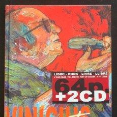 Libros: VINICIUS DE MORAES - O POETA (COMIC 64 PAG + 2 CDS) TAPA DURA NUEVO Y PRECINTADO. Lote 290305063