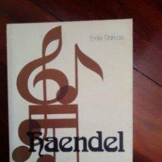 Libros: DAMAIS (1973) HAENDEL. ESPASA CALPE. Lote 292339593