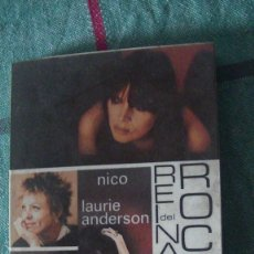 Libros: REINAS DEL ROCK. PATTI SMITH, NICO, LAURIE ANDERSON, KATE BUSH. 1ª EDICIÓN. FUNDAMENTOS. 1987. Lote 293491583