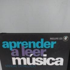 Libros: APRENDER A LEER MÚSICA. MANUAL DETALLADO. ROD FOGG. INCLUYE CD. Lote 295643518