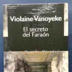 Libros: EL SECRETO DEL FARAÓN VIOLAINE VANOYEKE EDITORIAL PLURAL TAPA DURA NUEVO SIN DESPRECINTAR. Lote 51062923