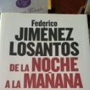 Libros: LIBRO DE LA NOCHE A LA MAÑANA DE LOS SANTO. Lote 91022023