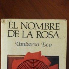 Libros: LIBRO DE UMBERTO ECO EN NOMBRE DE LA ROSA. Lote 91018780