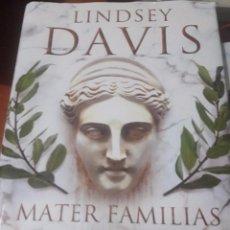 Libros: MATER FAMILIAS (SEGUNDA MANO). Lote 97740887