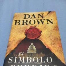 Libros: EL SÍMBOLO PERDIDO. DAN BROWN. NUEVO. Lote 103239874