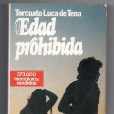 Libros: EDAD PROHIBIDA . Lote 103251007