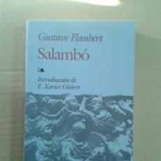 Libros: SALAMBO. Lote 120442403