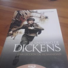 Libros: EL UNIVERSO DE DICKENS. FAZIO FERNANDEZ, MARIANO.. Lote 121494823